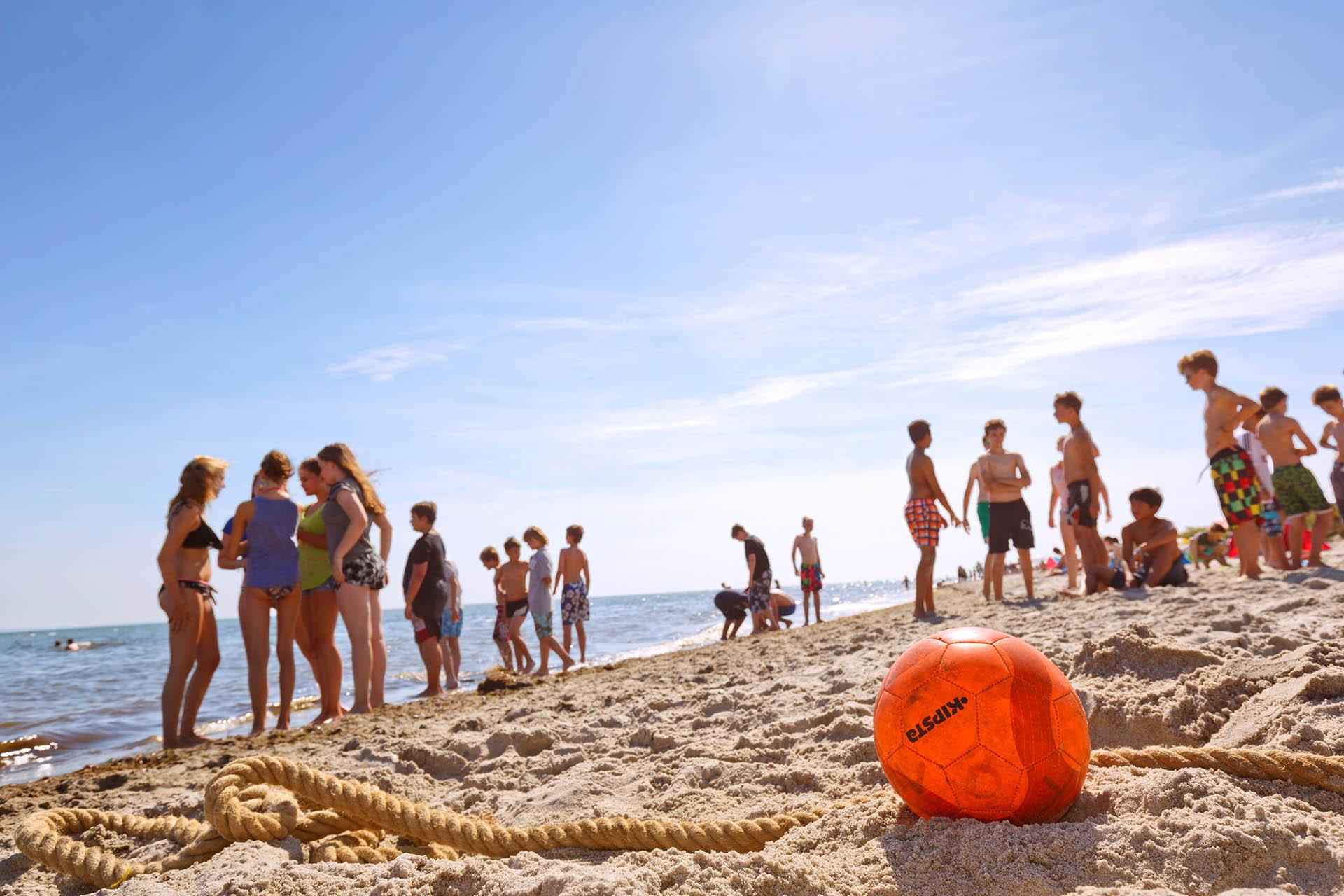 Strandspiele Beach Camp Grömitz
