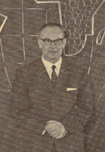 Bruno Köhler Vorsitzender des Hauptvorstands