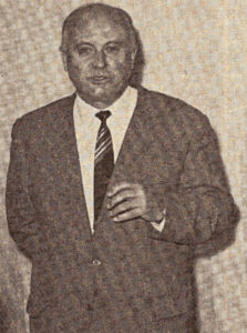 Dr. Alexander Petermichl Vorsitzender des Hauptvorstands