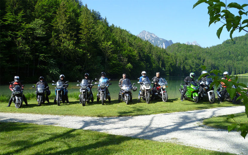 Motorradfreizeit am Alatsee