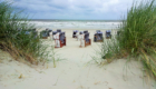 Norderney - Strand mit Strandkörben
