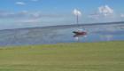 Norderney - Meer bei Ebbe mit Boot