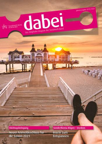 Titelseite des Mitgliedermagazins Dabei - Ausgabe 2019/2020